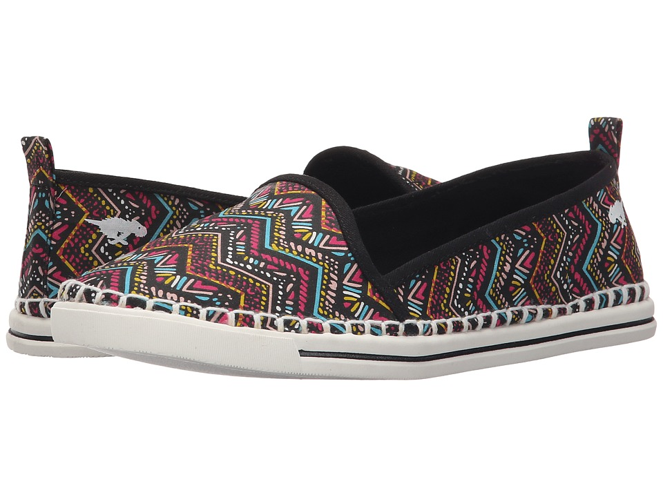 Rocket Dog - Sammie (Black Del Mar) Women's Flat Shoes