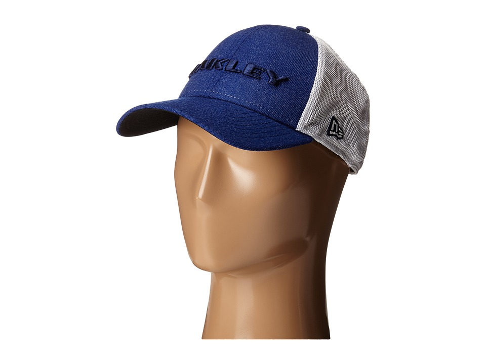Oakley - Heather New Era Snapback Hat (Pacific Blue) Caps