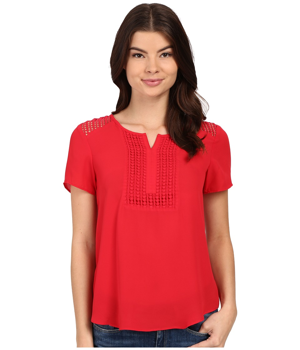 Ariat - Malone Top (Crimson Flame) Women's Blouse