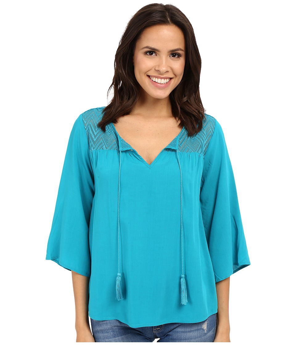 Ariat - Garland Tunic (Bluebird) Women's Blouse