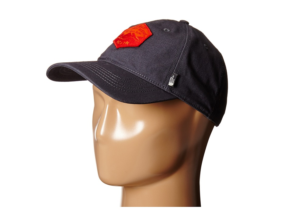 The North Face - Canvas Work Ball Cap (Asphalt Grey) Baseball Caps