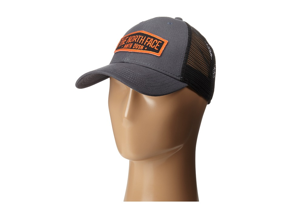 The North Face - Patches Trucker Hat (Asphalt Grey) Caps