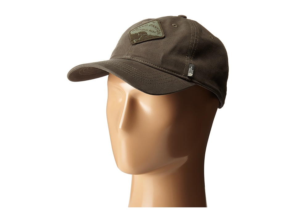 The North Face - Canvas Work Ball Cap (Spruce Green) Baseball Caps