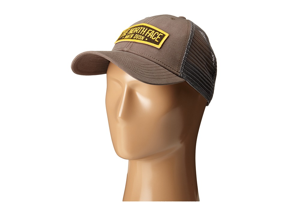 The North Face - Patches Trucker Hat (Weimaraner Brown) Caps