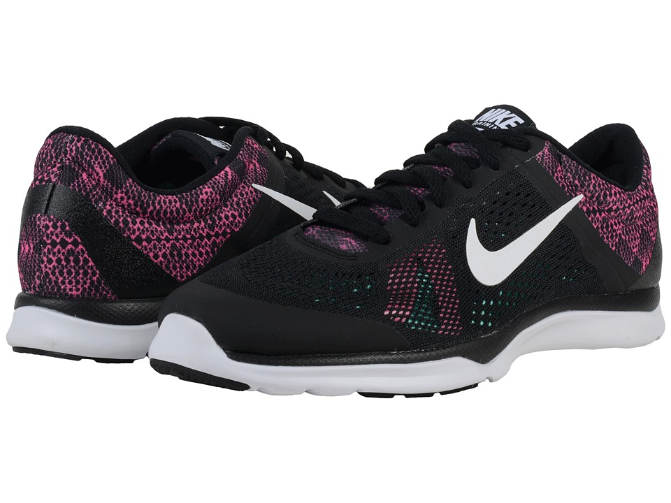 Nike - In-Season TR 5 BTS (Black/Pink Blast/Hyper Turquoise/White) Women's Cross Training Shoes
