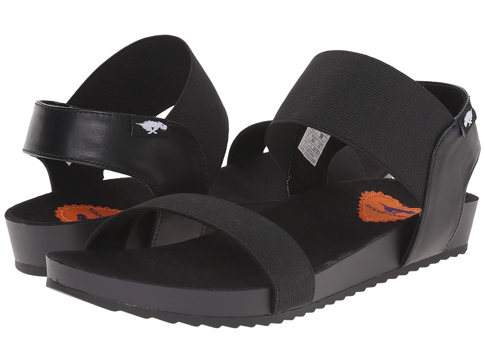 Rocket Dog - Fuji (Black Finish Line Gore) Women's Sandals