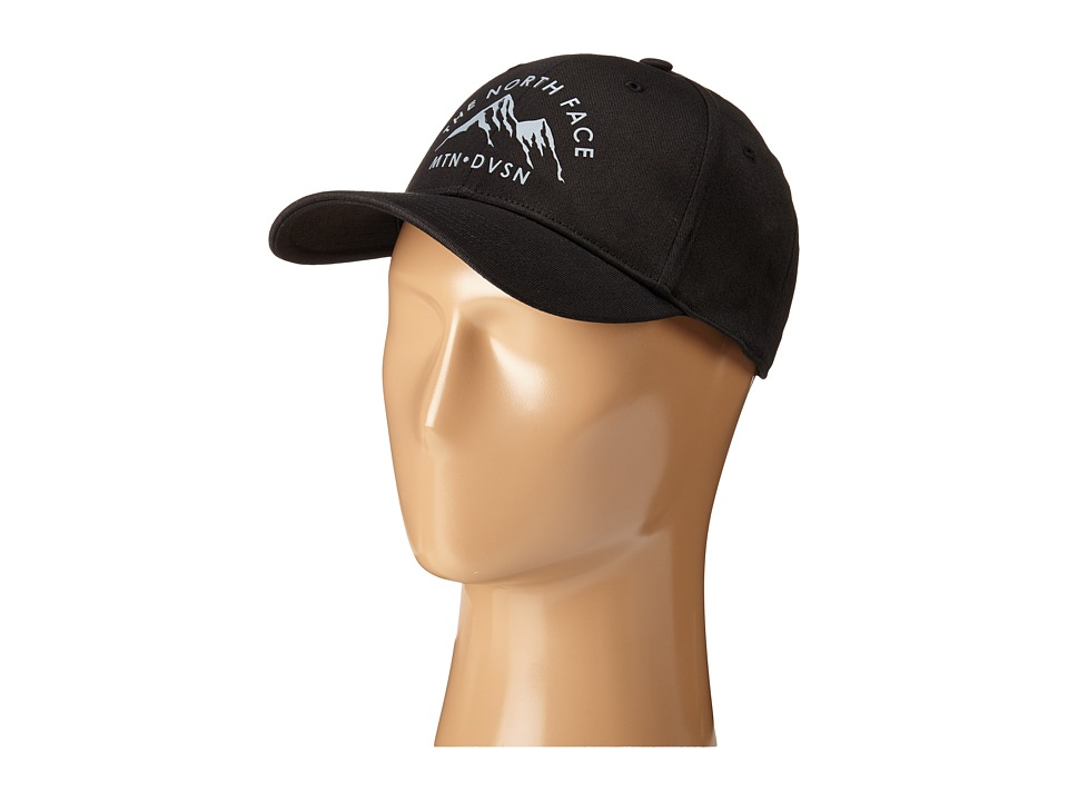 The North Face - High Density Ball Cap (TNF Black/Mid Grey) Baseball Caps