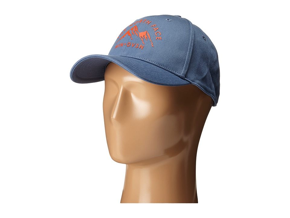 The North Face - High Density Ball Cap (Moonlight Blue) Baseball Caps