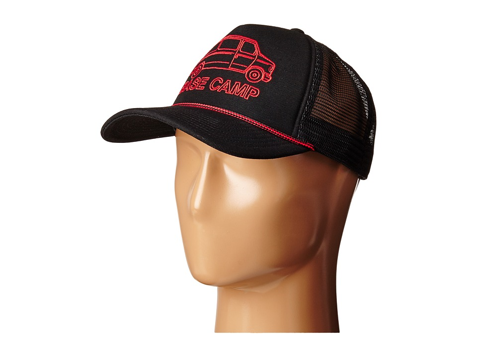 The North Face - Cross Stitch Trucker Hat (TNF Black) Baseball Caps