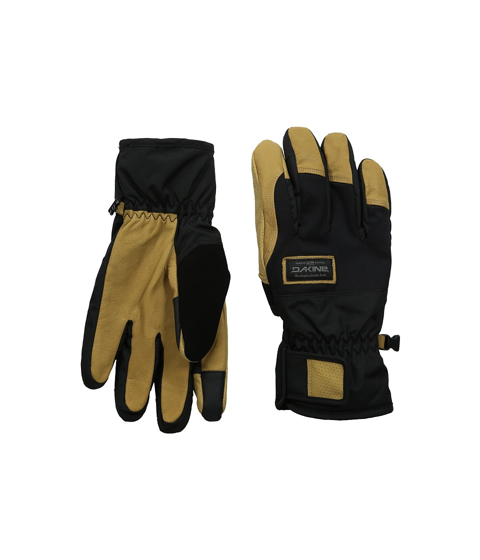 Dakine - Charger Glove (Black/Tan) Snowboard Gloves