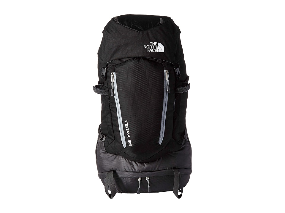 The North Face - Terra 65 (TNF Black/Asphalt Grey) Backpack Bags