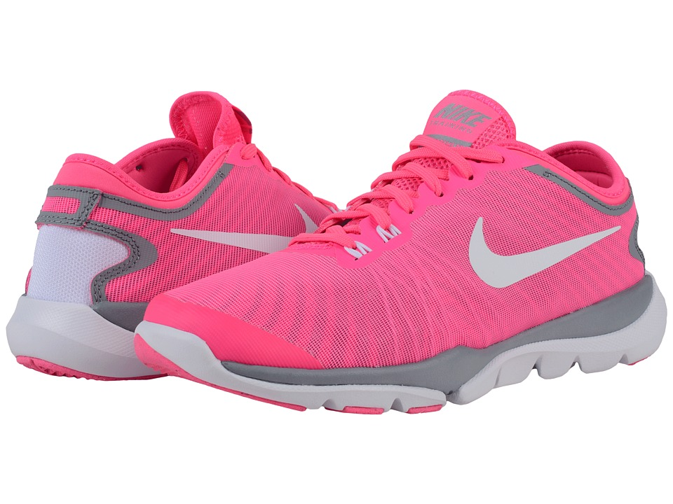 Nike - Flex Supreme TR4 (Pink Blast/Stealth/Hyper Pink/White) Women's Cross Training Shoes
