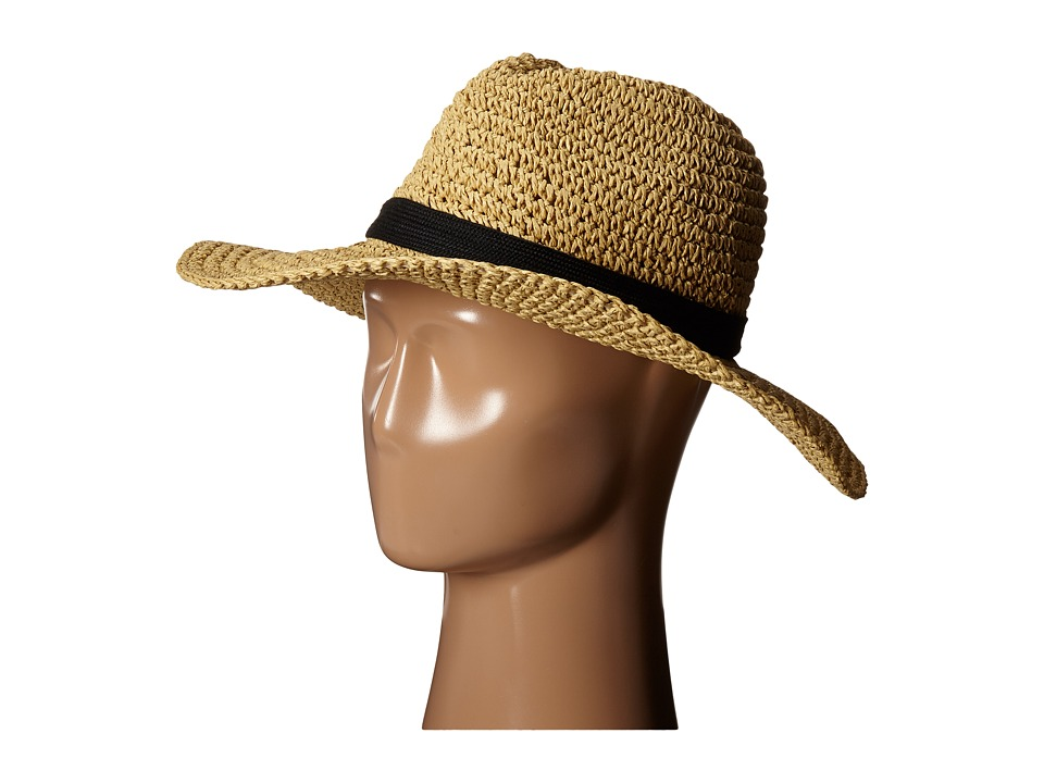 The North Face - Market Sun Brimmer (TNF Black Natural Straw) Traditional Hats