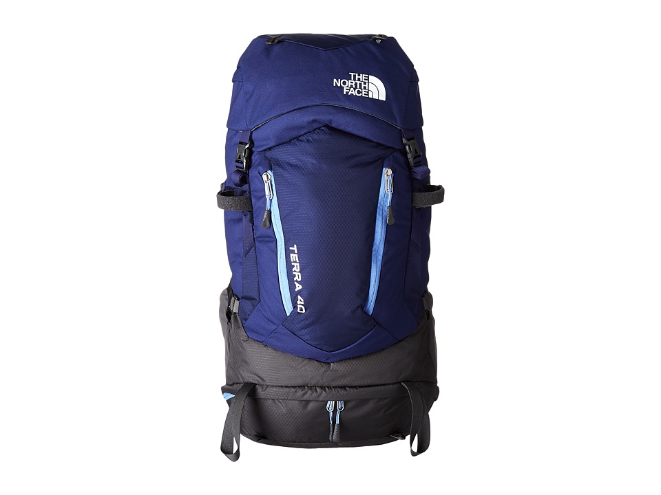 The North Face - Terra 40 (Patriot Blue/Persian Jewel) Backpack Bags