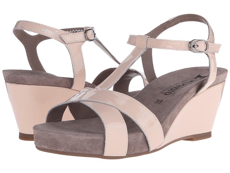 Mephisto - Batida (Nude Patent) Women's Sandals