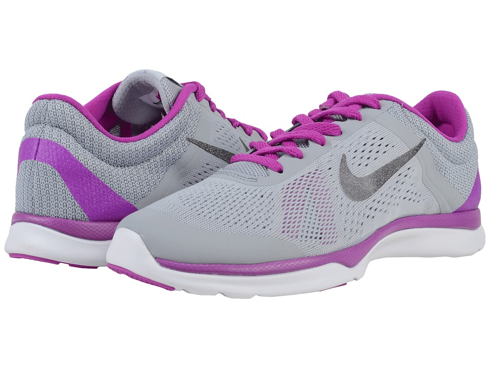 Nike - In-Season TR 5 (Wolf Grey/Hyper Violet/Pure Platinum/Metallic Dark Grey) Women's Cross Training Shoes