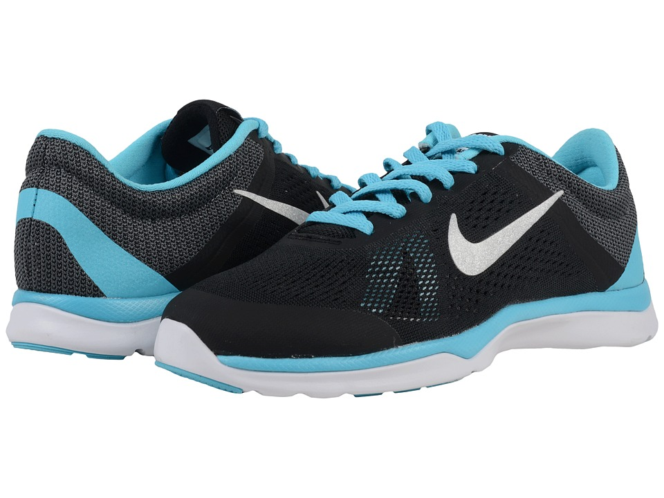 Nike - In-Season TR 5 (Black/Gamma Blue/Dark Grey/Metallic Platinum) Women's Cross Training Shoes