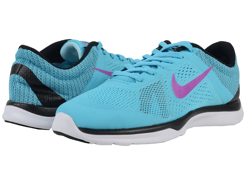 Nike - In-Season TR 5 (Gamma Blue/Black/Glacier Blue/Hyper Violet) Women's Cross Training Shoes