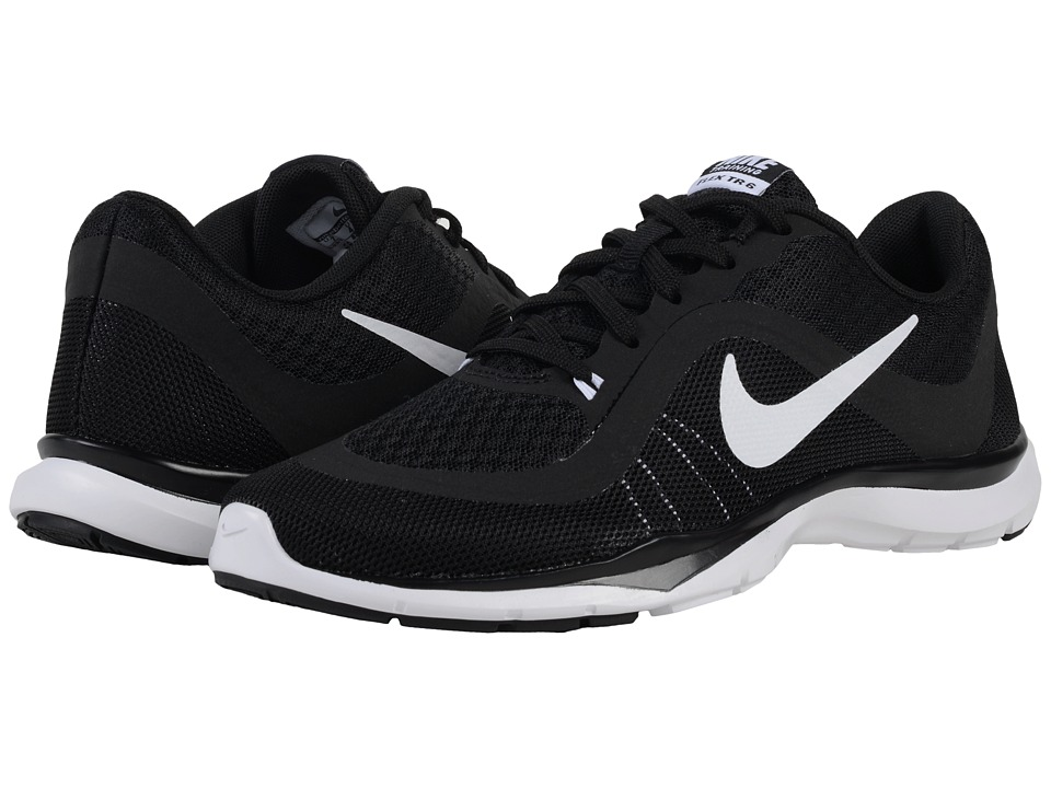 Nike - Flex Trainer 6 (Black/White) Women's Cross Training Shoes