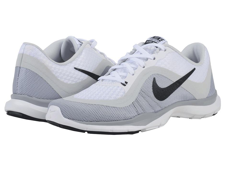 79b57756662bd ... UPC 886551732672 product image for Nike - Flex Trainer 6 (White Pure  Platinum  ...