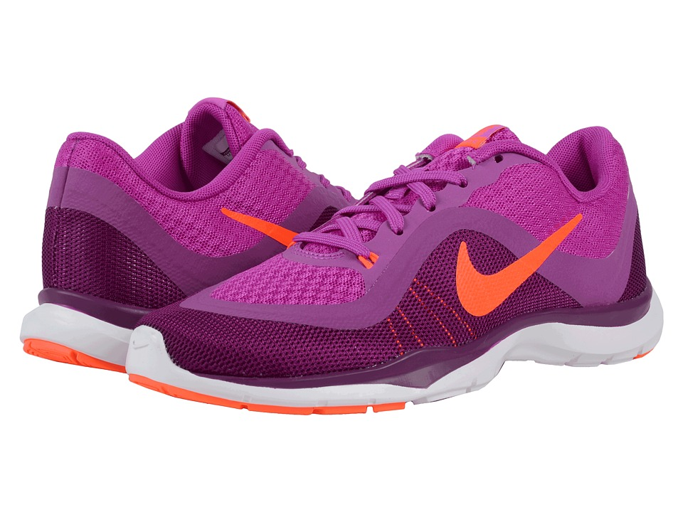 Nike - Flex Trainer 6 (Hyper Violet/Cosmic Purple/Bright Grape/Total Crimson) Women's Cross Training Shoes