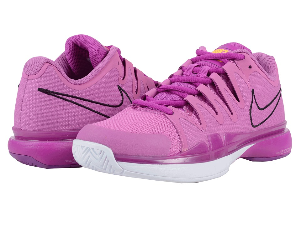 Nike - Zoom Vapor 9.5 Tour (Viola/Hyper Violet/White/Black) Women's Tennis Shoes