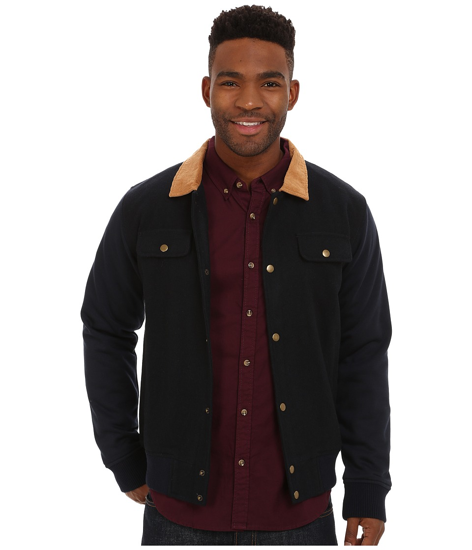 Akomplice - Rebel Varsity Jacket (Blue) Men's Coat