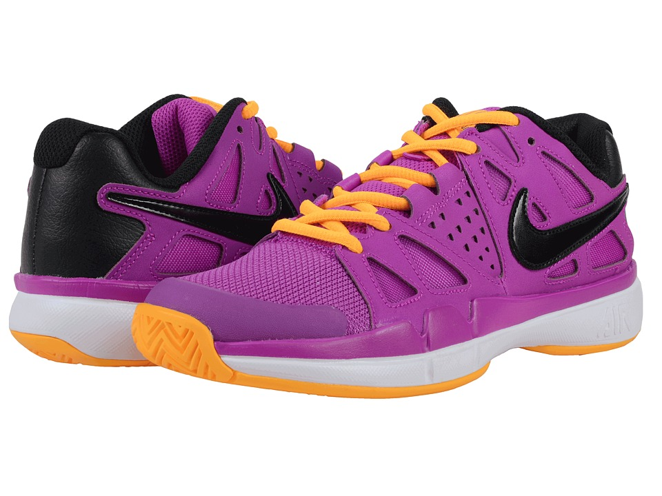 Nike - Air Vapor Advantage (Hyper Violet/Laser Orange/White/Black) Women's Tennis Shoes