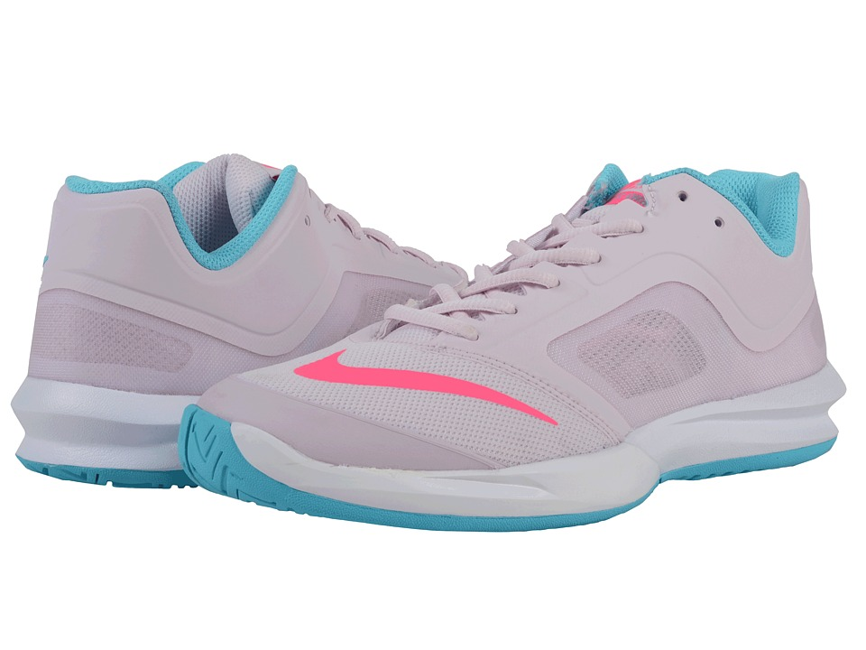 Nike - DF Ballistec Advantage (Bleached Lilac/Gamma Blue/White/Hyper Pink) Women's Tennis Shoes
