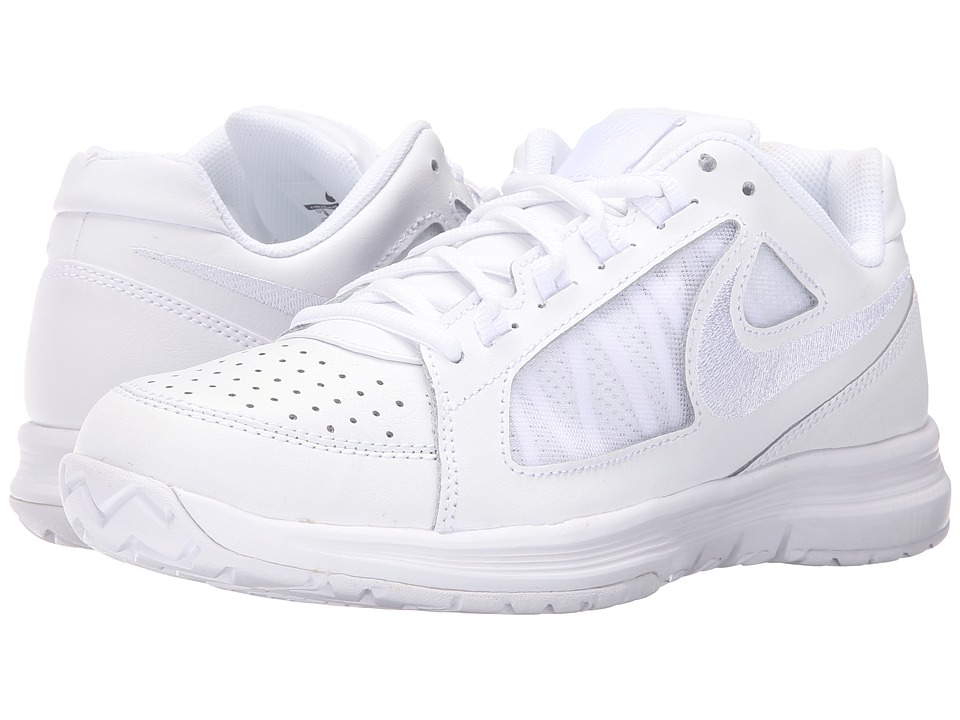 Nike - Air Vapor Ace (White/White) Women's Tennis Shoes