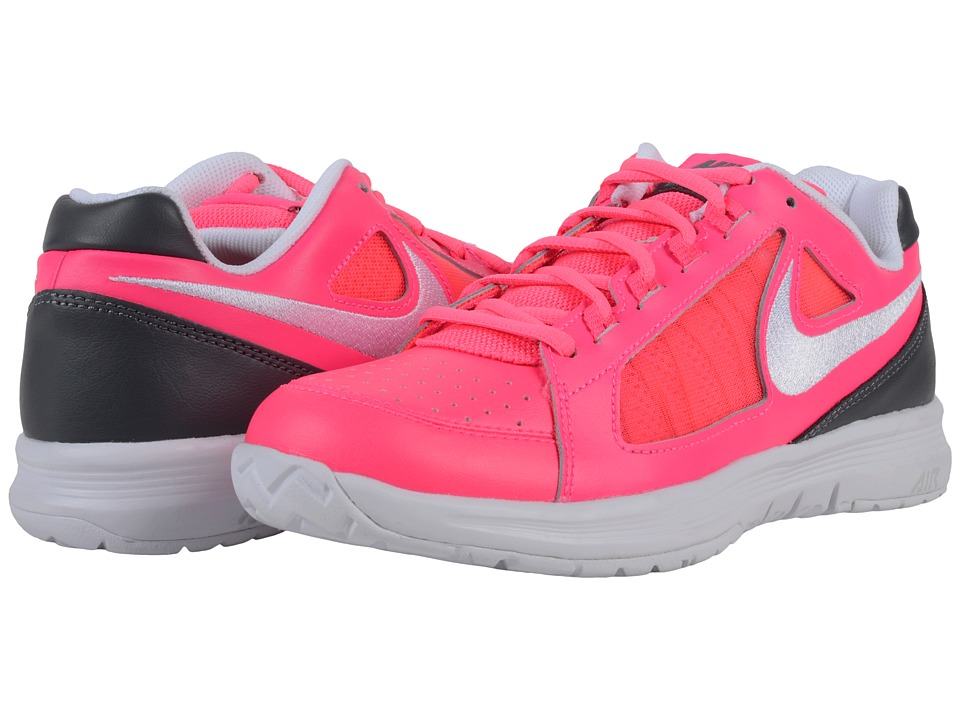 Nike - Air Vapor Ace (Hyper Pink/Dark Grey/ Gamma Blue/White) Women's Tennis Shoes