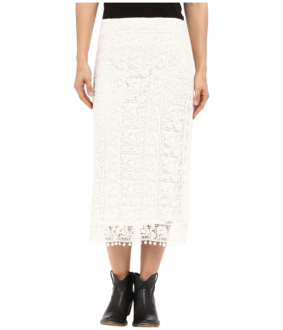 Ariat - Colbert Maxi Skirt (White) Women's Skirt