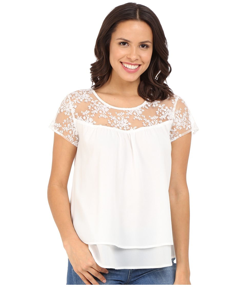 Ariat - Nelly Top (White) Women's Blouse