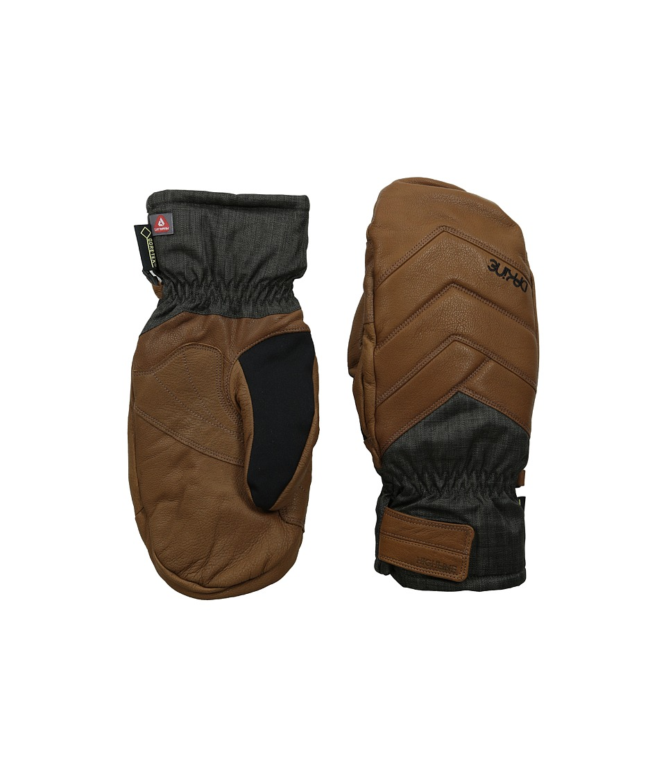 Dakine - Galaxy Mitt (Charcoal) Extreme Cold Weather Gloves
