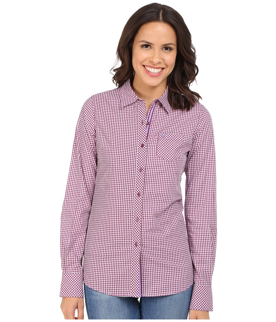 Ariat - Kirby Shirt (Voluptuous) Women's Long Sleeve Button Up