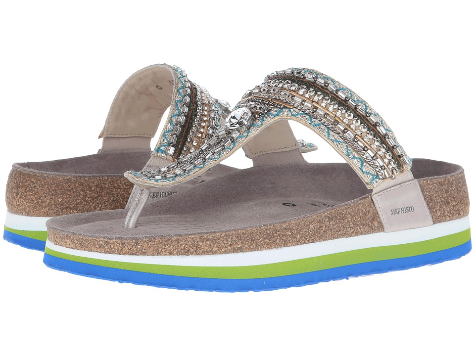 Mephisto - Kellie (Turquoise Tahiti) Women's Sandals