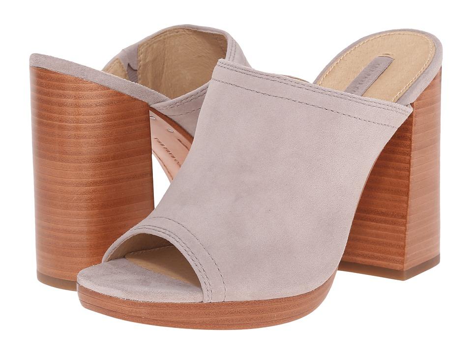 Frye - Karissa Mule (Cement Suede) High Heels