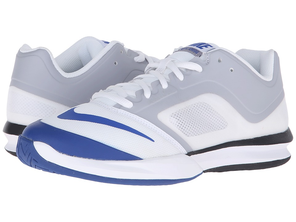 Nike - DF Ballistec Advantage (White/Wolf Grey/Game Royal) Men's Tennis Shoes