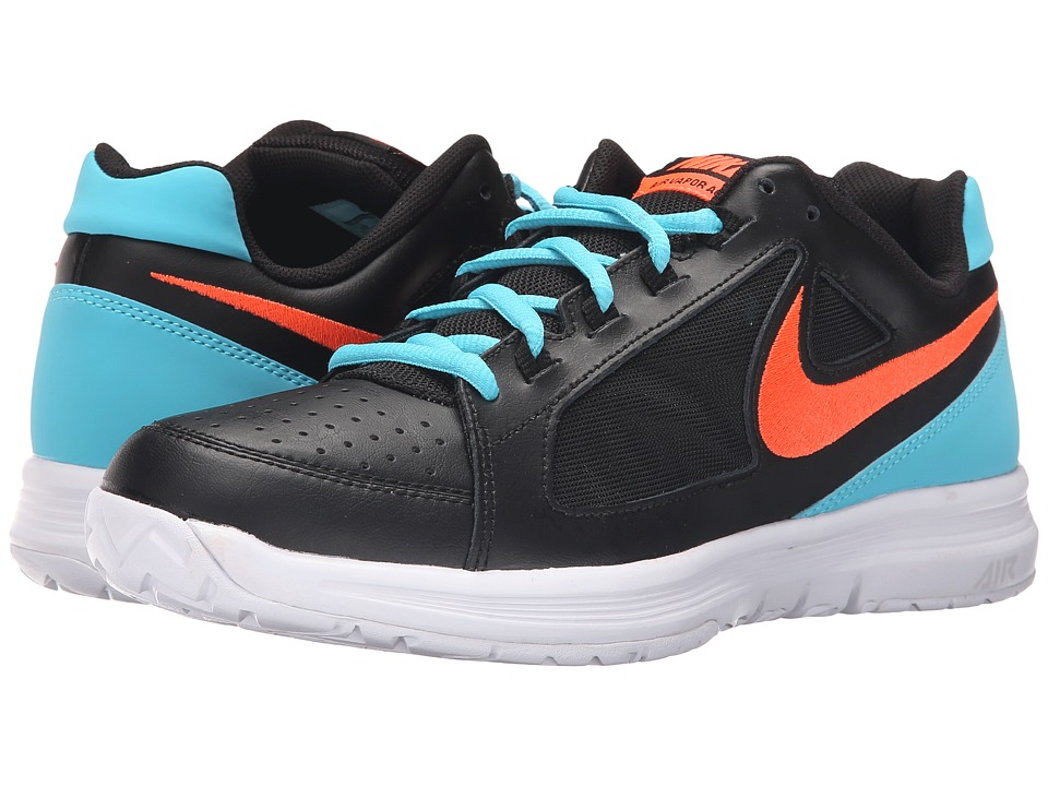 Nike - Air Vapor Ace (Black/Gamma Blue/White/Total Crimson) Men's Tennis Shoes