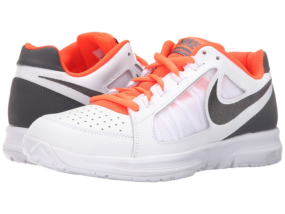 Nike - Air Vapor Ace (White/Total Crimson/Gamma Blue Blue/Dark Grey) Men's Tennis Shoes