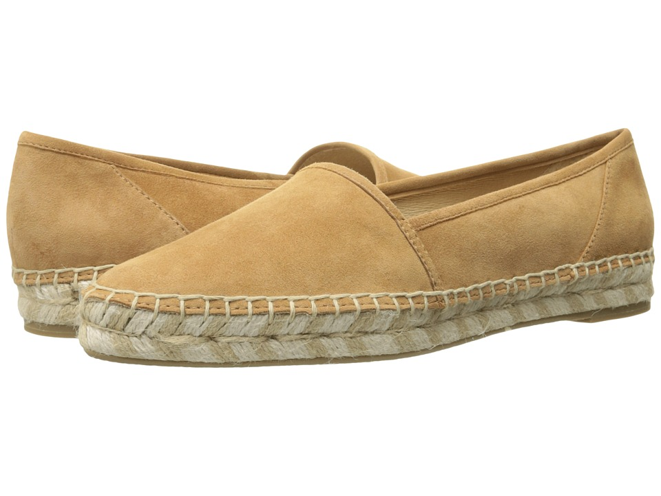 Frye - Lee A Line (Sand Suede) Women's Slip on Shoes