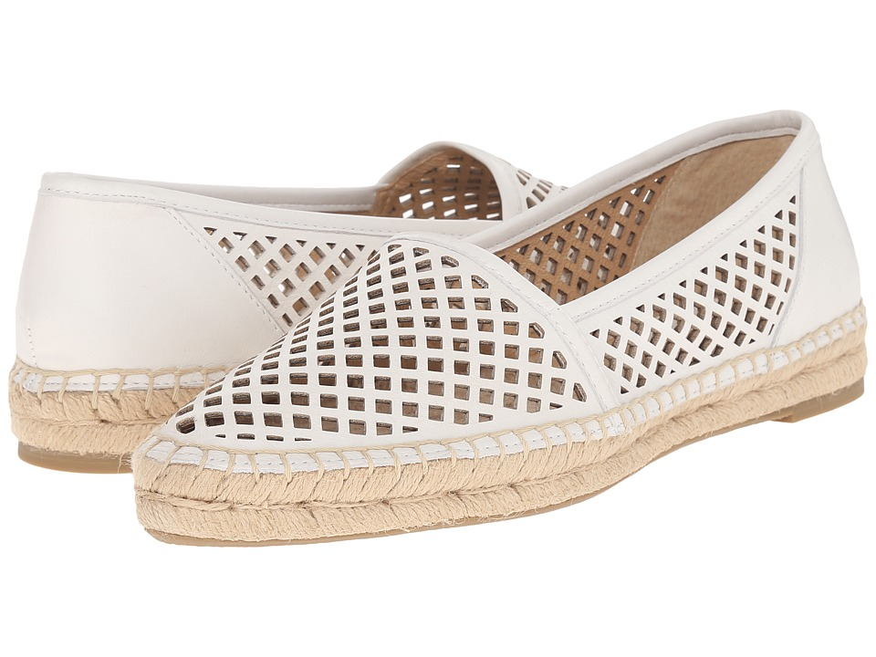 Frye - Lee A Line Perf (White Soft Full Grain) Women's Slip on Shoes