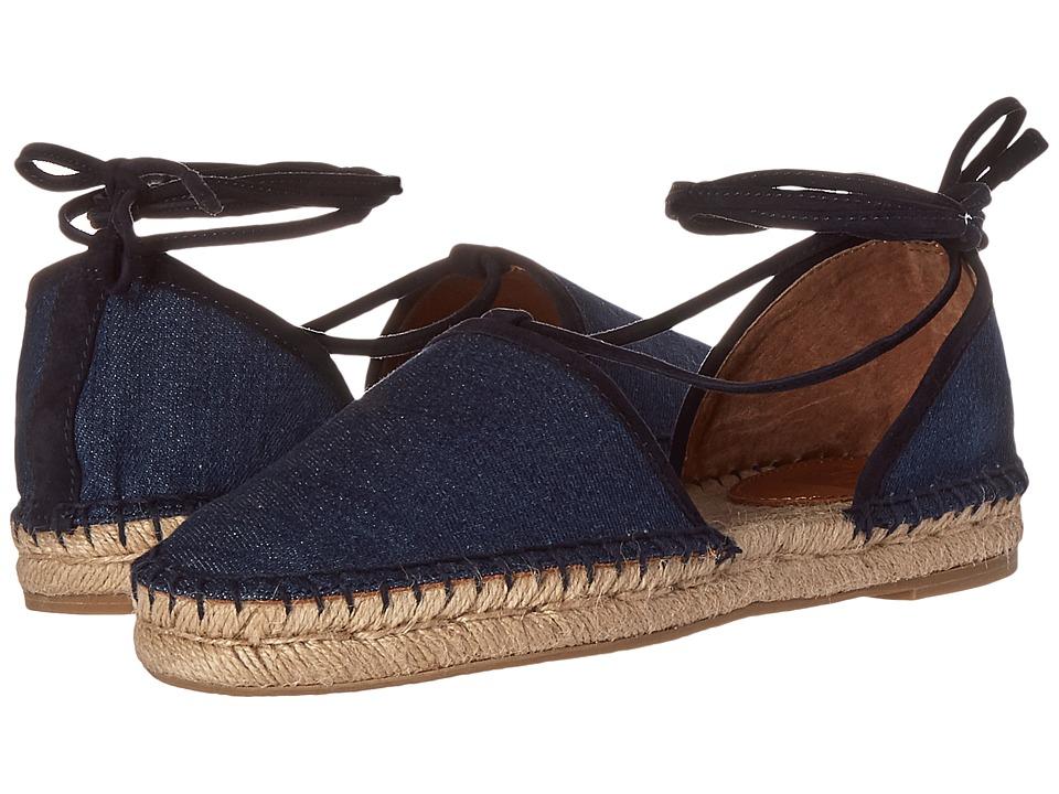 Frye - Leo 2 Piece (Denim Suede) Women's Shoes