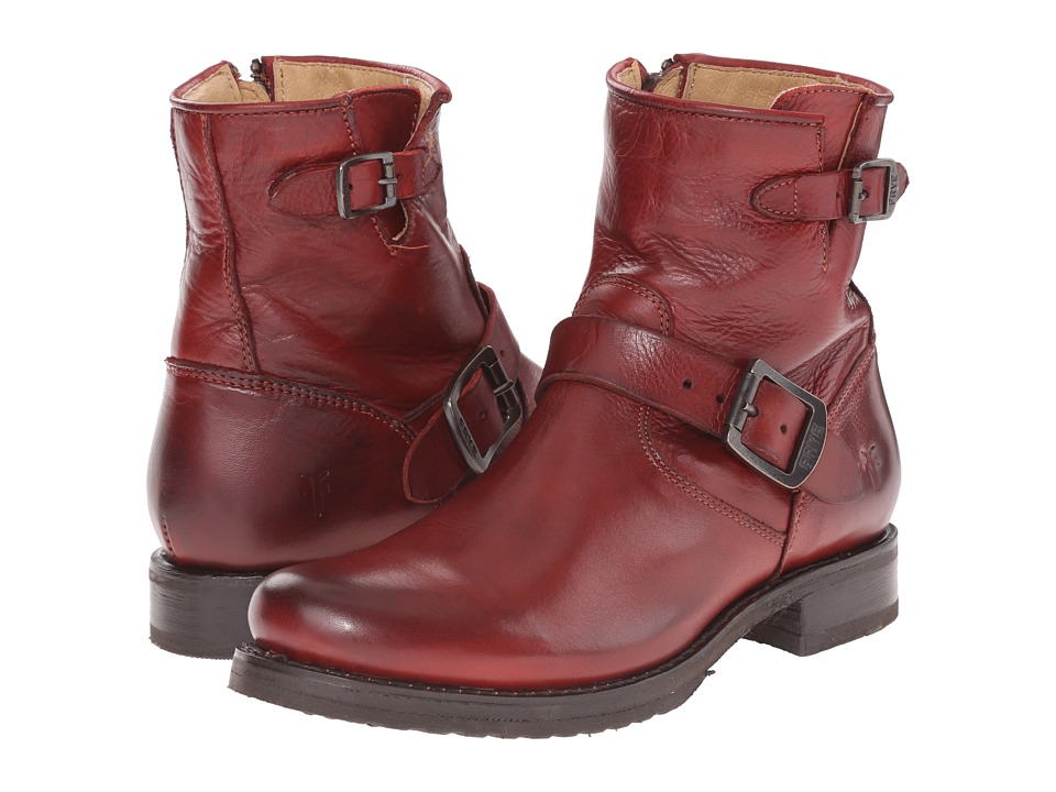 Frye - Veronica 6 (Burnt Red) Women's Boots
