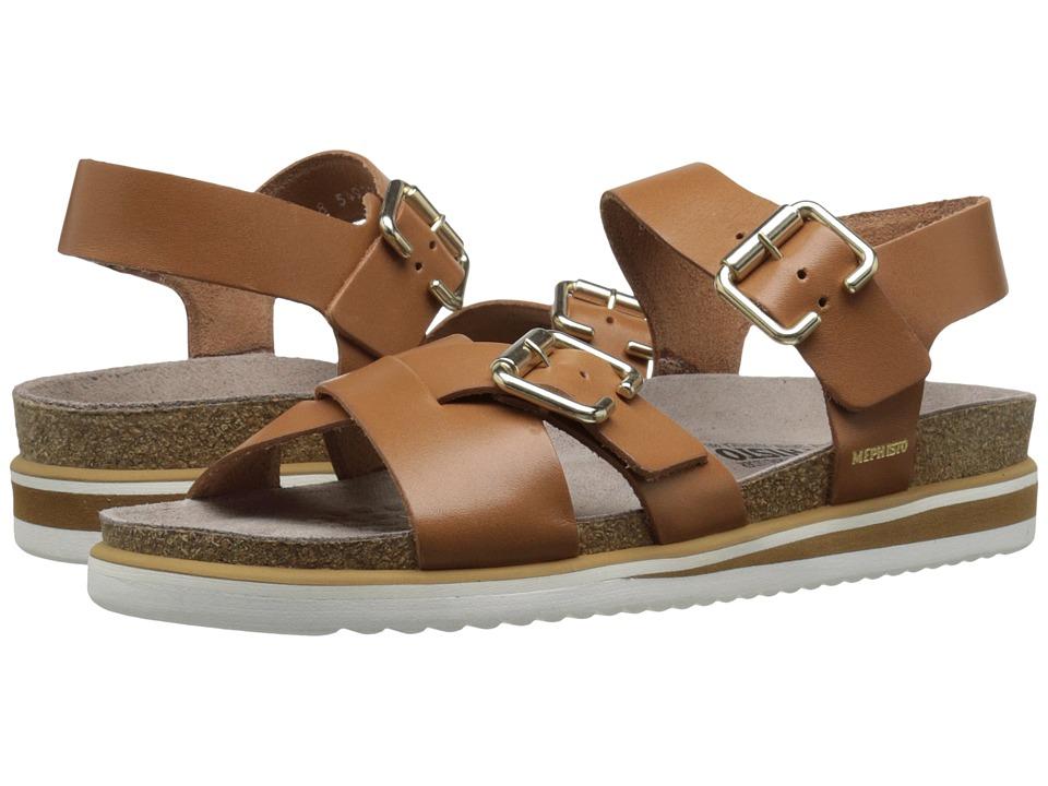 Mephisto - Sybil (Camel Waxy) Women's Shoes