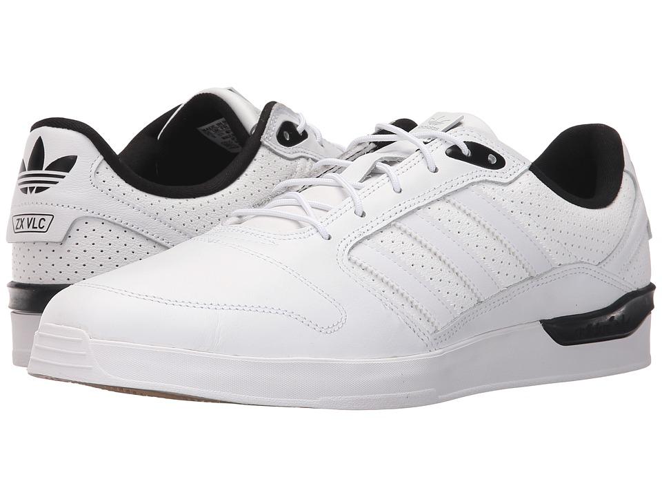 adidas Skateboarding - ZX Vulc Classified (White/Black/White) Men's Skate Shoes
