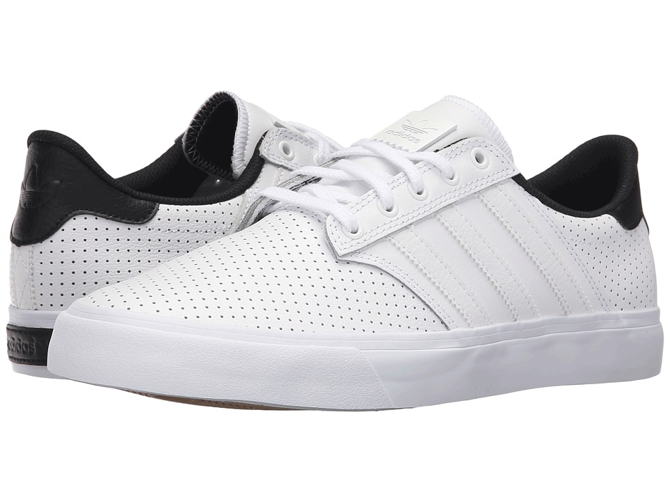 adidas Skateboarding - Seeley Premiere Classified (White/Black/Gum4) Men's Skate Shoes