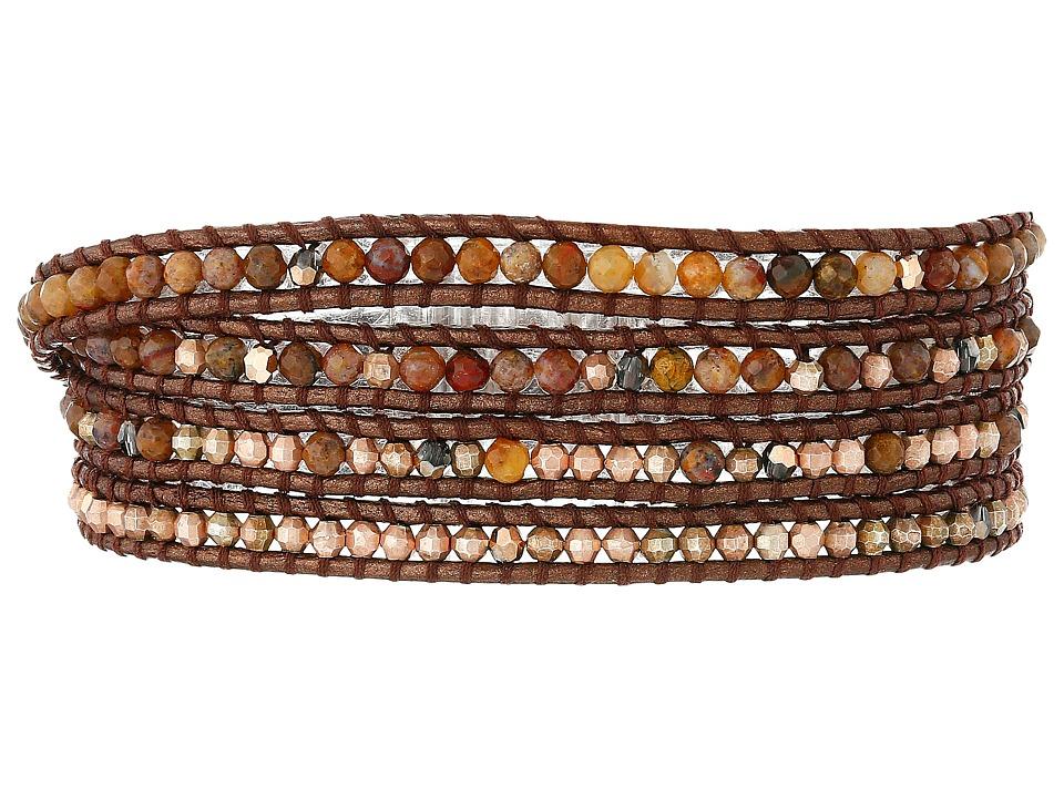 Chan Luu - 32' Pietersite Mix Wrap Bracelet (Pietersite Mix) Bracelet