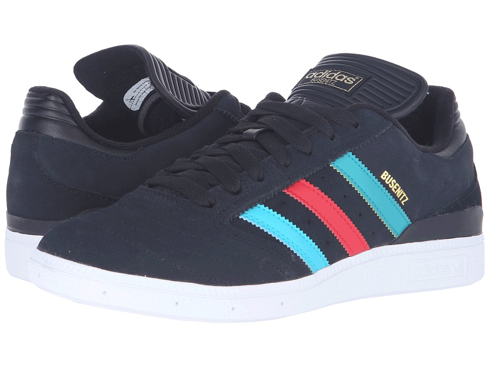 adidas Skateboarding - Busenitz Pro (Black/EQT Green/Scarlet) Men's Skate Shoes