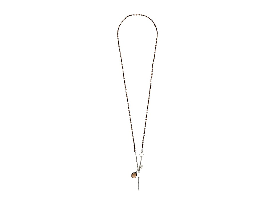 Chan Luu - 39 1/2' Smokey Quartz Mix Necklace (Smokey Quartz) Necklace